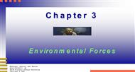 CHAPTER 3 :  Environmental Forces powerpoint presentation