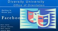 Diversity University :  Office of Orientation powerpoint presentation