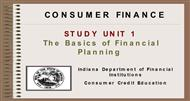 CONSUMER FINANCE powerpoint presentation