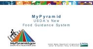 MyPyramid USDA's New Food Guidance System powerpoint presentation