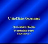 United States Government powerpoint presentation