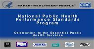 National Public Health Performance Standards Program powerpoint presentation