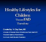 Healthy Living & Lifestyle powerpoint presentation
