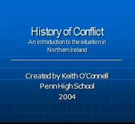 History of Conflict powerpoint presentation