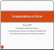 Independence at Home powerpoint presentation