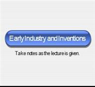 Early Industry and Inventions powerpoint presentation
