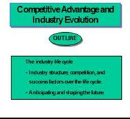 Competitive Advantage and Industry Evolution powerpoint presentation