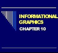 INFORMATIONAL GRAPHICS CHAPTER 10 powerpoint presentation