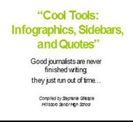 Cool Tools:Infographics, Sidebars, and Quotes powerpoint presentation