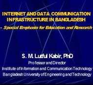 INTERNET AND DATA COMMUNICATION INFRASTRUCTURE IN BANGLADESH powerpoint presentation