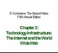 Technology Infrastructure: The Internet and the World Wide Web powerpoint presentation