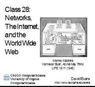 Networks,he Internet,and the World Wide Web powerpoint presentation