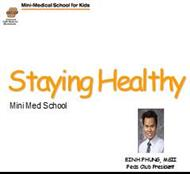 Staying Healthy powerpoint presentation