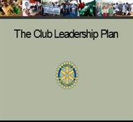The Club Leadership Plan powerpoint presentation