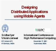 Designing Distributed Applications using Mobile Agents powerpoint presentation