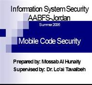 Information System Security powerpoint presentation