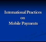 International Practices on  Mobile Payments powerpoint presentation