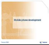 Mobile phone development powerpoint presentation