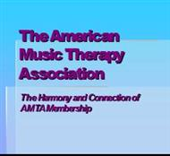 The American Music Therapy Association powerpoint presentation