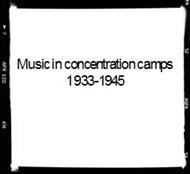 Music in concentration camps 1933-1945 powerpoint presentation