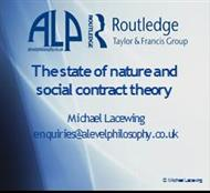 ALPR :The state of nature and social contract theory powerpoint presentation