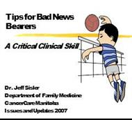 Tips for Bad News  Bearers : A Critical Clinical Skill powerpoint presentation