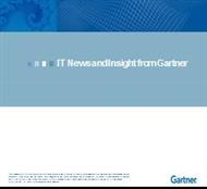 IT News and Insight from Gartner powerpoint presentation