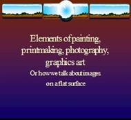 Elements of painting,  printmaking, photography,  graphics art powerpoint presentation