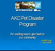 AKC Pet Disaster Program powerpoint presentation