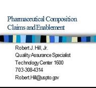 Pharmaceutical Composition Claims and Enablement powerpoint presentation