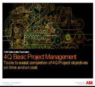 4Q Basic project Management powerpoint presentation
