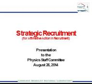 Strategic Recruitment powerpoint presentation