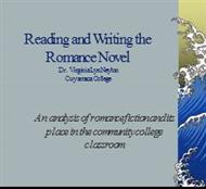 Reading and Writing the Romance Novel powerpoint presentation