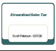 Streamlined Sales Tax powerpoint presentation