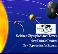 Science Olympiad and Texas: New Tools for Teachers & New Opportunities for Students powerpoint presentation