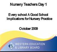 Nursery Teachers Day 1 powerpoint presentation