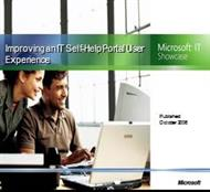 Improving an IT Self-Help Portal User Experience powerpoint presentation