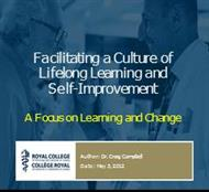 Facilitating a Culture of Lifelong Learning and  Self-Improvement powerpoint presentation