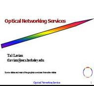 Optical Networking Services powerpoint presentation