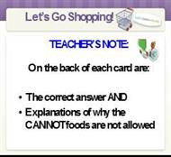 Let's Go Shopping! powerpoint presentation