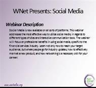 WNet Presents: Social Media powerpoint presentation