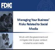 Managing Your Business' Risks Related to Social Media powerpoint presentation