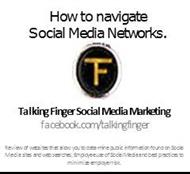 How to navigate Social Media Networks. powerpoint presentation