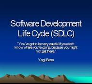 Software Development Life Cycle (SDLC) powerpoint presentation