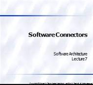 Software Connectors powerpoint presentation