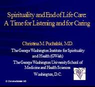 Spirituality and End of Life Care: A Time for Listening and for Caring powerpoint presentation