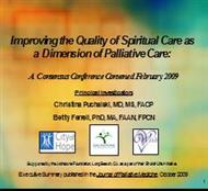 Spiritual Care Matters! powerpoint presentation