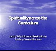 Spirituality across the Curriculum powerpoint presentation
