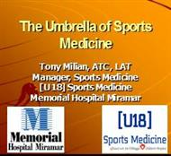 The Umbrella of Sports Medicine powerpoint presentation