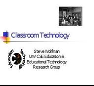 Classroom Technology powerpoint presentation